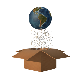 New Cornserstone logo Globe & Box