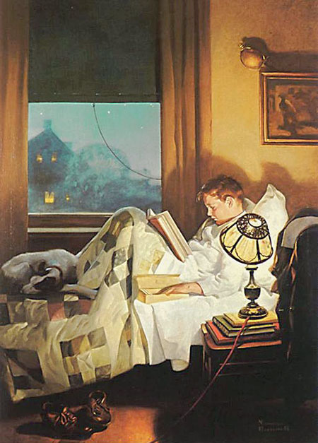 Art of Norman Rockwell in NW Colorado (1/2)