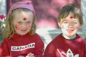 canadian children