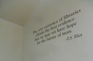 quote on libraries