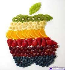 apple with fruit