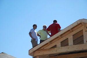 Rick, Kyle on roof