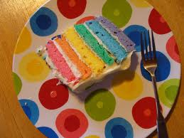 colors of cake