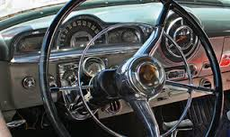 dashboard of station wagon