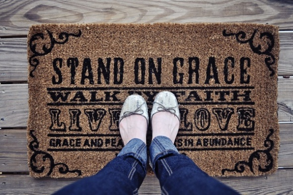 faith welcome mat