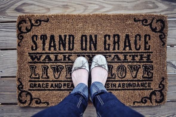 faith welcome mat