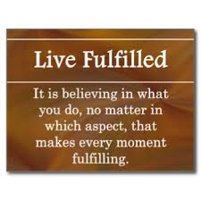 live fulfilled