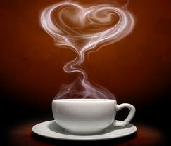 coffee image with heart