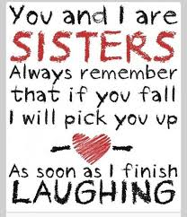 laughing sisters