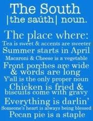 Quotes about the South