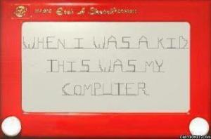 computer as a kid