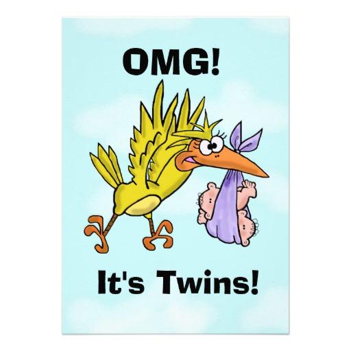 OMG its twins