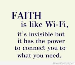 faith like wifi