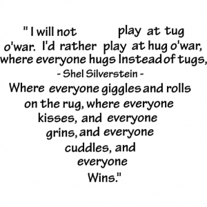 Tug of War Shel Silverstein