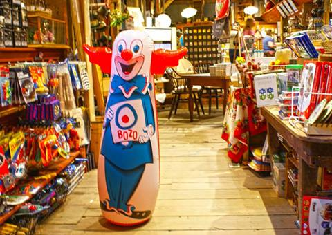 bozo clown - available at VT Country