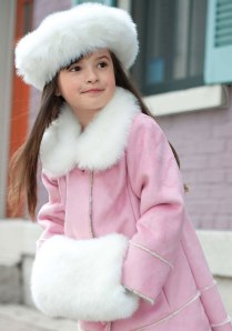 fur hat and muff