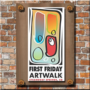 steamboat first friday art walk