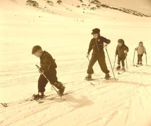 Vintage ski pic