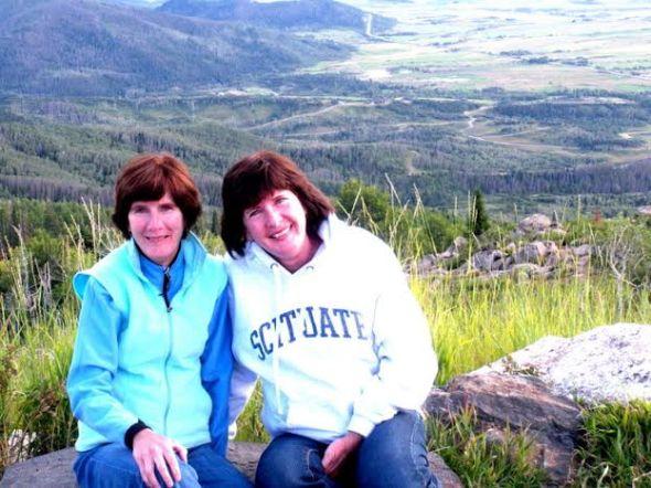 Sue & Jan Mt Werner