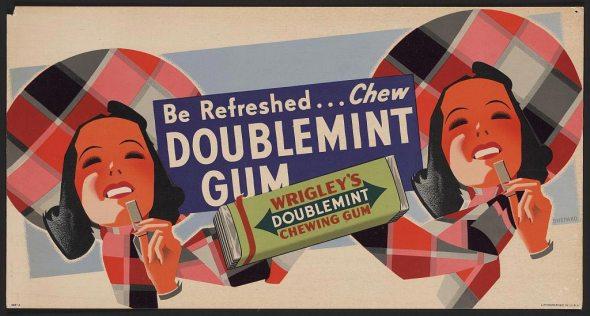 vintage doublemint gum