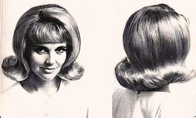 flip hairdo