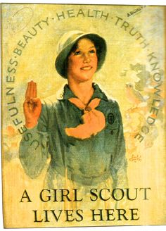 girl scout vintage