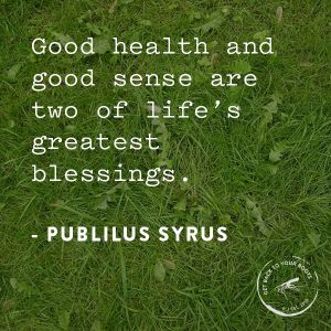 good health and sense