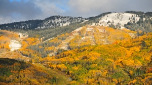 Steamboat october snow