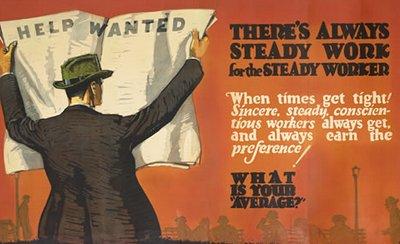 vintage poster work