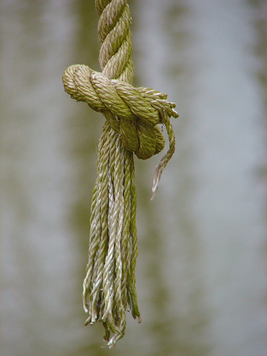 Rope from ceiling