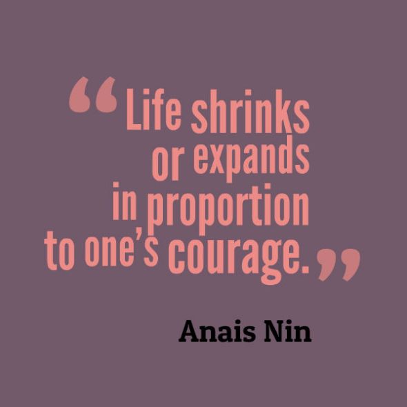 Life shrinks or expands