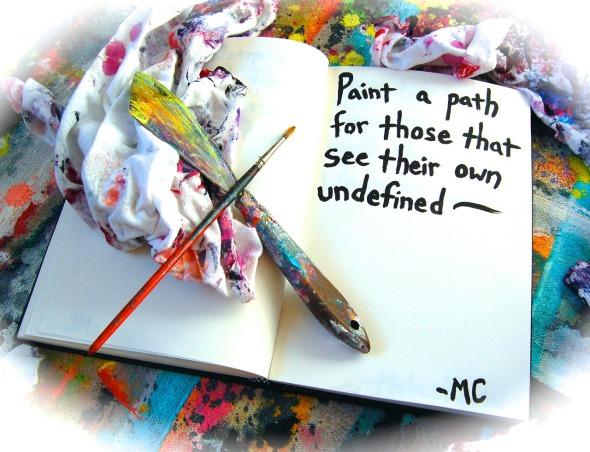 paint a path