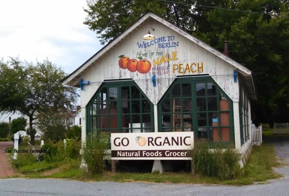 Berlin Peach grocery signed