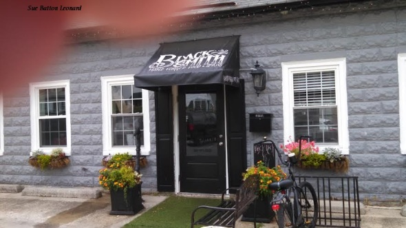 blacksmith restaurant signed