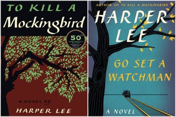 HANDOUT IMAGE - Cover of Harper Lee's new book 'Go Set A Watchman'