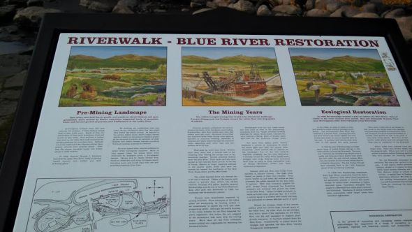 Riverwalk sign