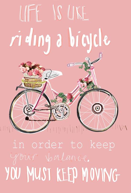 life like a bike