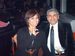 Avila and wife Maribel