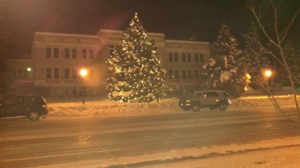 Xmas courthouse