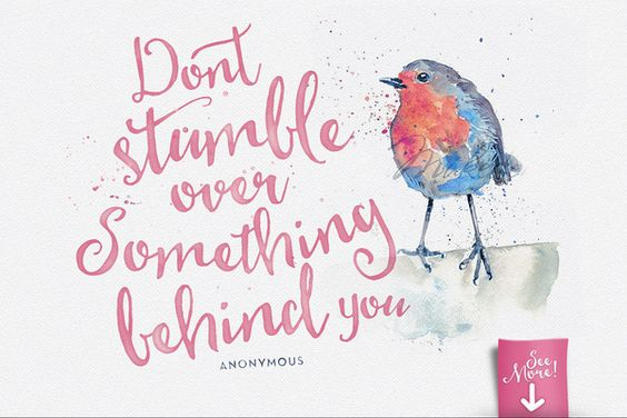 dont stumble