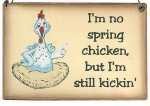 im_no_spring_chicken_wooden_sign